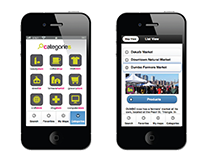 UX & iconography for nearBuy
